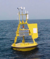 A 3-meter Discus Buoy like the one near Christmas Island
