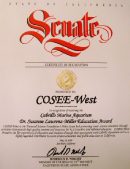 COSEE-West Grand Grunion CA Senate citation