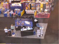 COSEE booth at NSTA conference