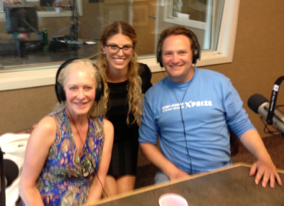 Wendy Schmidt, Carlie Wiener, and Paul Bunje