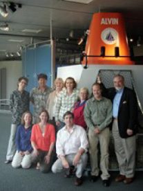 The COSEE OCEAN Team visiting its partner the New York Hall of Science