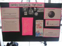 Poster designed by high school students and presented at the University of Washington in March 2010
