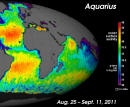 Aquarius first light image
