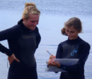 Bangor High Students sample Frenchman Bay