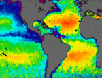 Aquarius' first map of global ocean salinity
