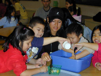 Sharing knowledge and passion for ocean sciences with young children