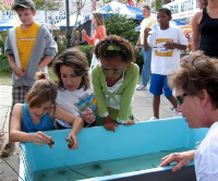 Mississippi festival touch tank