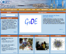 Screenshot of the COSEE OCEAN home page