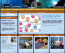 Screenshot of the COSEE Ocean Systems home page