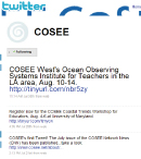 COSEE on Twitter
