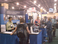 COSEE booth at the NSTA meeting