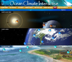 Ocean Climate Interactive screenshot
