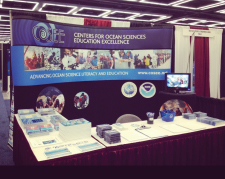 COSEE booth at SACNAS 2012