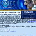 Best of COSEE Hands-on Activities home page